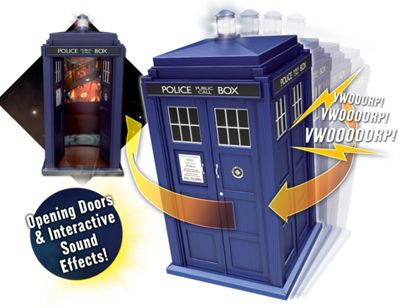 Doctor Who Flight Control Tardis