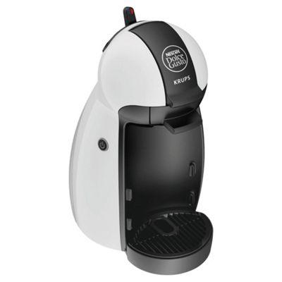 Nescafe Dolce Gusto Piccolo Multi Beverage White Coffee Machine by Krups