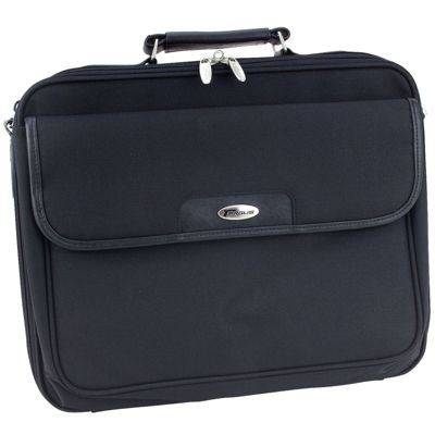 Targus Black Clamshell notepac plus laptop bag CNP1 - For up to 15.4 inch laptops