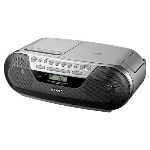 Sony CFDS05 Digital CD Radio Cassette Player