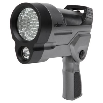 Rolson 1W LED & 60 LED rechargeable spot light
