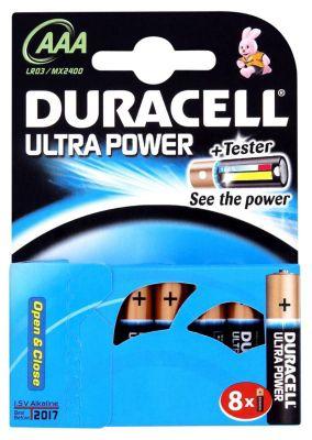 Duracell Ultra 8 Pack AAA Batteries