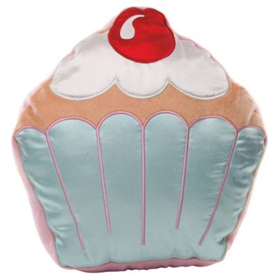 buy tesco kids cupcake cushion from our kids 39 cushions. Black Bedroom Furniture Sets. Home Design Ideas