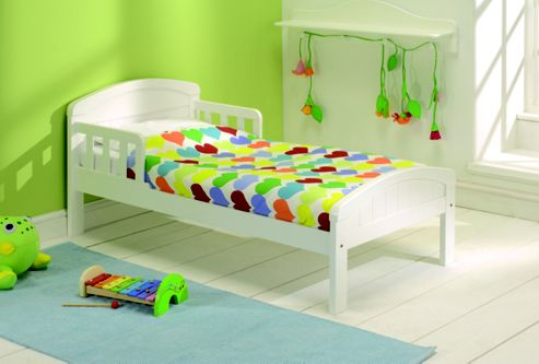 East Coast Country Toddler Bed White-DUPLICATE