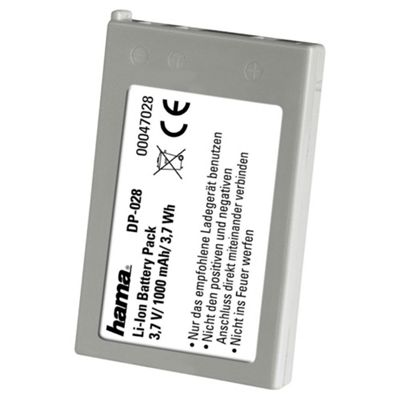 Hama DP 028 Lithium Ion Battery for Nikon (Equivalent to Nikon EN-EL-5 battery)