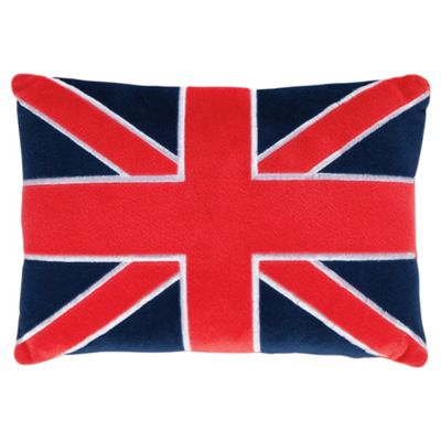 Tesco Kids Union Jack Cushion