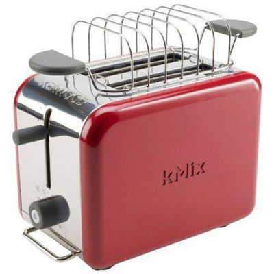 Kenwood 77-160 kMIx TTM021 2-Slot Toaster, Raspberry Red