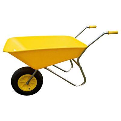 Bullbarrow Picador Plastic Wheelbarrow - Yellow