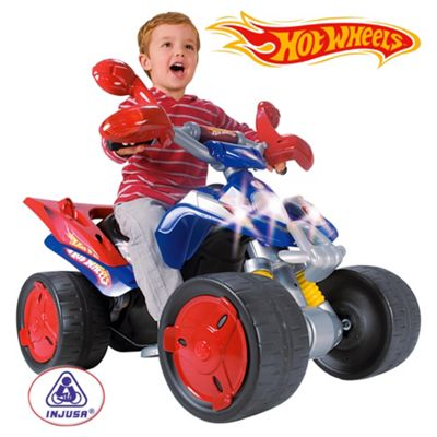 Buy Injusa Hot Wheels Quad Bike Battery Operated Ride On From Our
