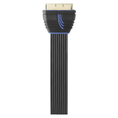 QED Profile ultra-compact Scart Cable 5M