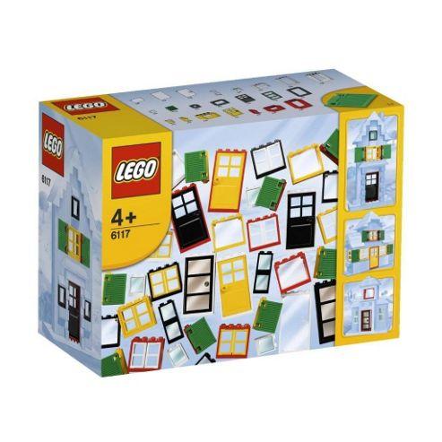LEGO 6117 Bricks & More Doors & Windows
