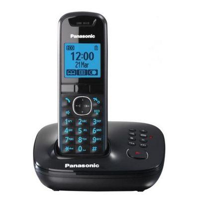 Panasonic KX-TG5521EB Cordless Phone - Black