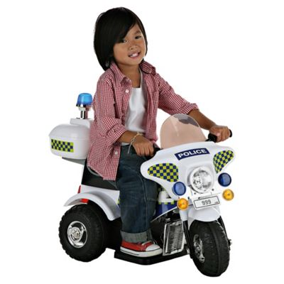 Kids At Play 6V Ride-On Police Motorbike