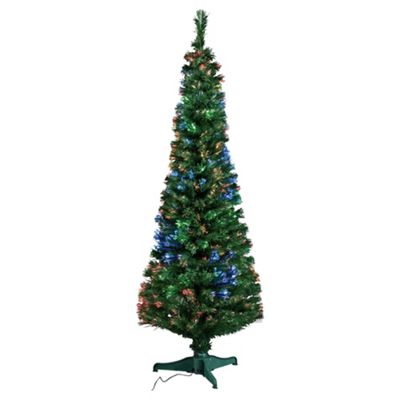Buy Tesco Fibre Optic Christmas Tree 6ft Trees