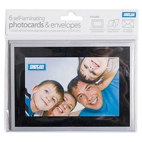 Photo Cards Black Silver