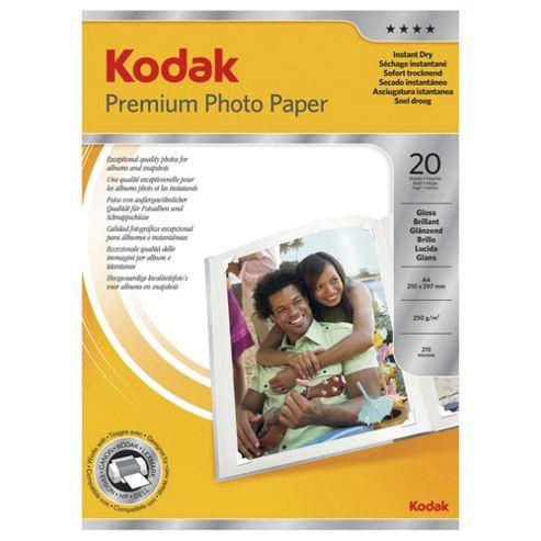 Kodak A4 Photo Paper - 20 sheets