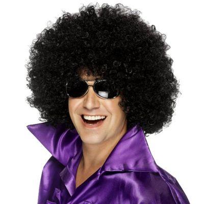 Smiffy's - Mega Huge Afro Wig - Black
