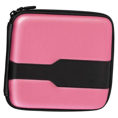Hama Metallic Pink Wallet for 24 CDs / DVDs