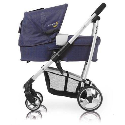 Cosatto Cabi 3 In 1, Out Of Town Pram, Charcoal