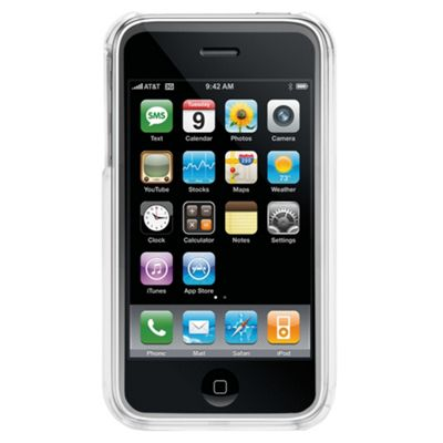 Griffin iClear iPhone Clear case 2-piece polycarbonate