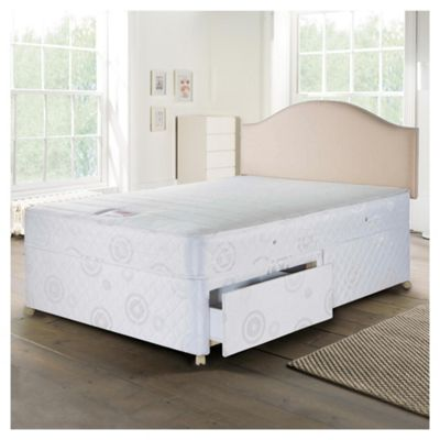 Airsprung Evesham Double Divan Bed Set, Non-Storage, Trizone