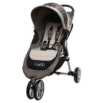 Baby Jogger City Mini Single 3 Wheeler Pushchair Stone