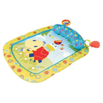 Bright Starts Tummy Turtle Prop Up Baby Playmat