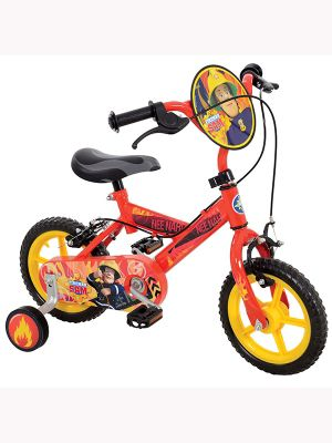 Buy Fireman Sam 12 Quot Kids Bike With Stabilisers From Our Bikes With Stabilisers Range Tesco