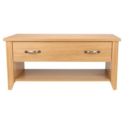 Harrogate 1 Drawer Coffee Table, Oak