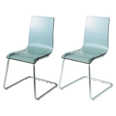 Lotus Pair Of Chairs, Charcoal