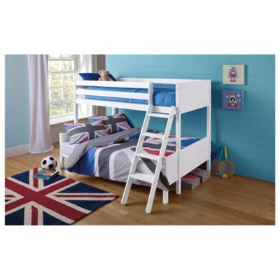 Buy Ashley Pine Triple Bunk Bed White From Our Kids Bunk Beds