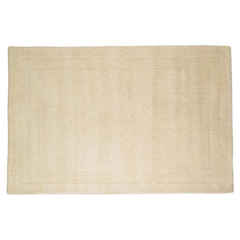 Tesco Rugs Wool Rug 100X150cm Cream