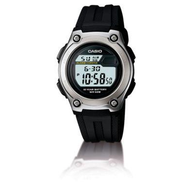 Casio Computer Mens Digital Watch Black