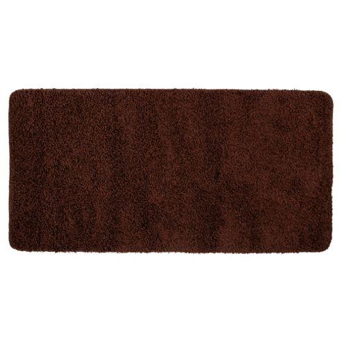 Tesco Rugs Shaggy Rug 60X110Cm, Chocolate