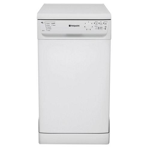 Hotpoint SDL510P Polar Slimline Dishwasher, A Energy Rating, White