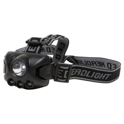 Active 1W & 3LED head light