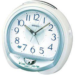Seiko QHK018W Bedside Alarm Clock