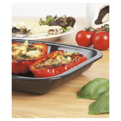 Swan 26cm Vitreous Enamel Mini Roasting Pan