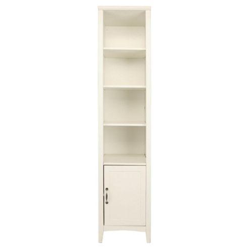 Stockholm 1 Door 3 Shelf Unit, White