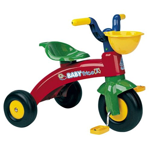 Injusa Baby Trike with Front Basket