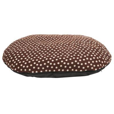 Fleece pillow pet bed large