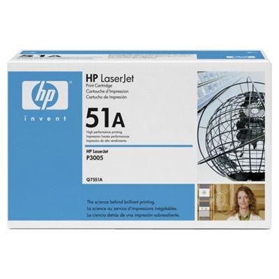 HP Q7551A Laser Toner Cartridge - Black