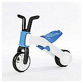Chillafish Bunzi 2-in-1 Tricycle & Balance Bike, Blue
