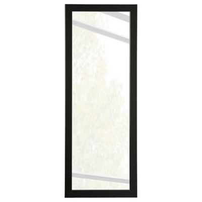 Basic Mirror - Black 30X90Cm