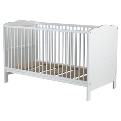 Saplings Kirsty Cot Bed, White