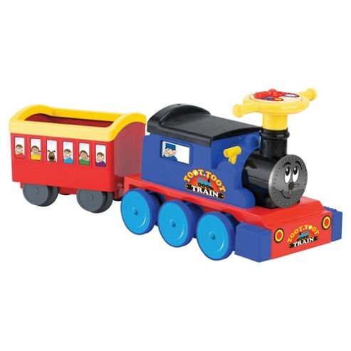 Toot Toot Battery Operated Train Ride-On & 22 Piece Track Set
