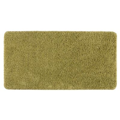 Tesco Rugs Shaggy Rug 60X110Cm, Green