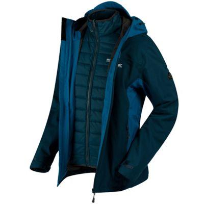 Regatta Mens Westwood II 3-1 Jacket Majolica Blue 2XL