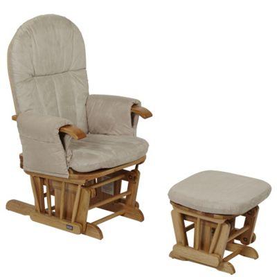 Tutti Bambini GC35 Glider Nursing Chair, Natural