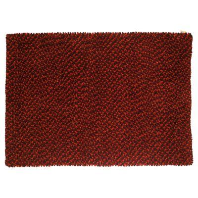 Tesco Rugs Felted Wool Rug 120X170Cm Berry